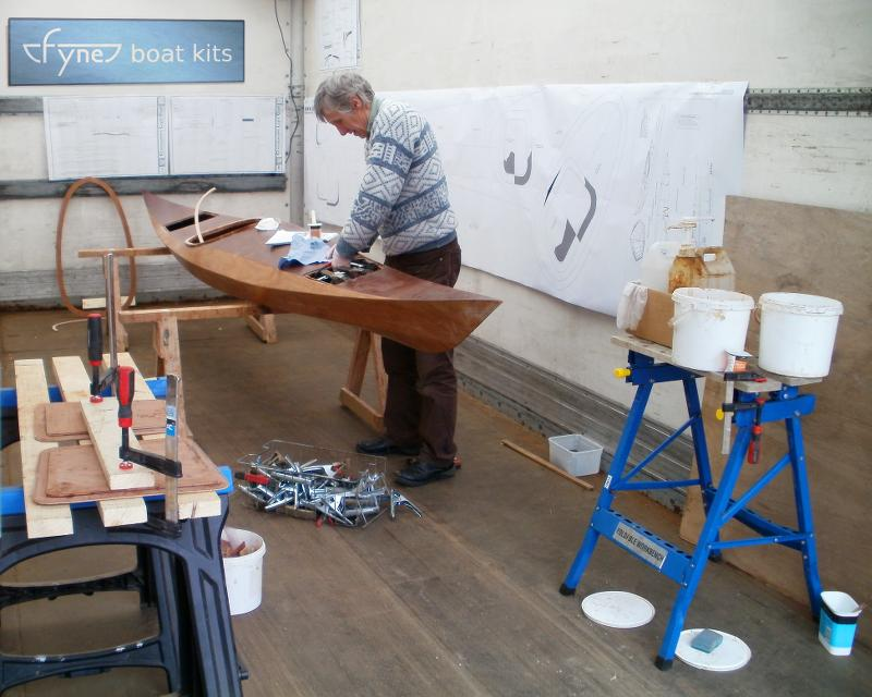 Boat building workshop space for hire