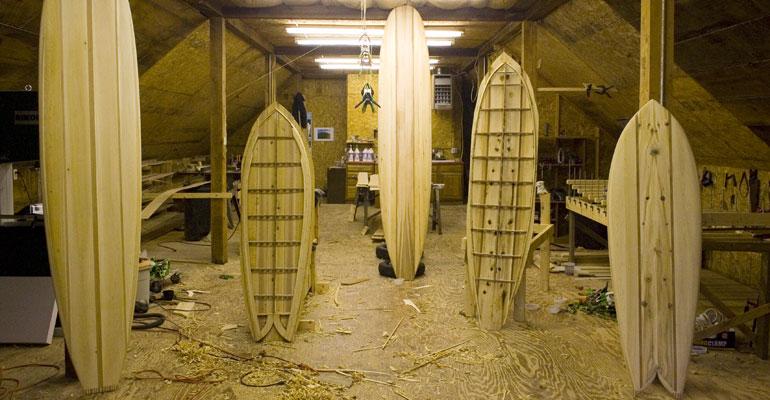 Grain Home Grown Surfboard Kits - Fyne Boat Kits