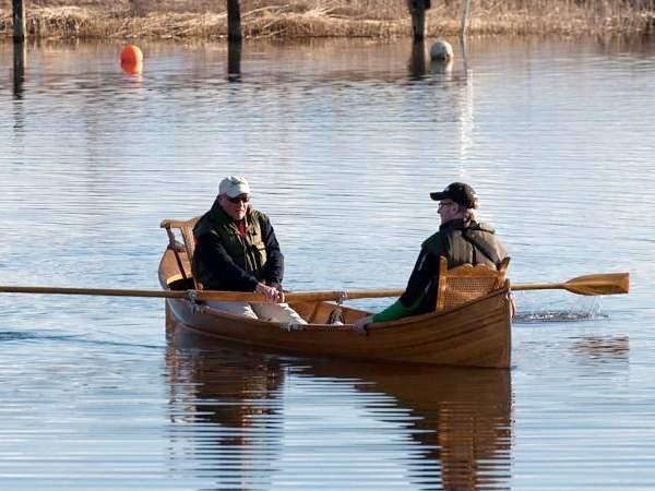 Adirondack guide boat fyne boat kits for Guide boat