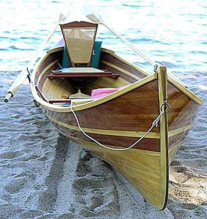 Adirondack Guide Boat - Fyne Boat Kits