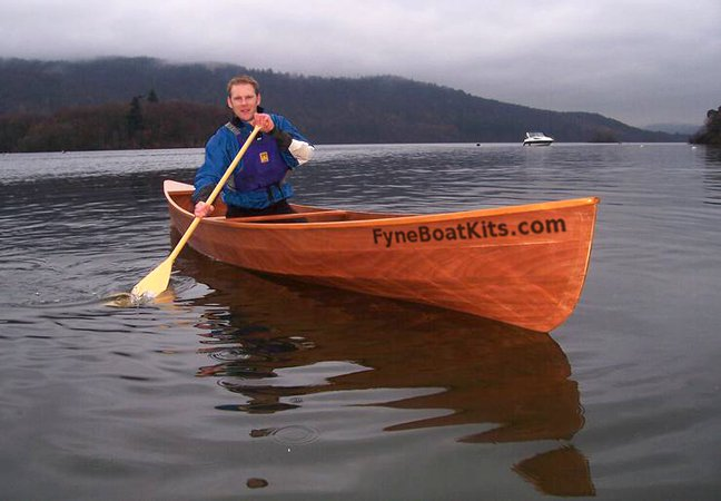 Canadian canoes can be comfortably paddled solo