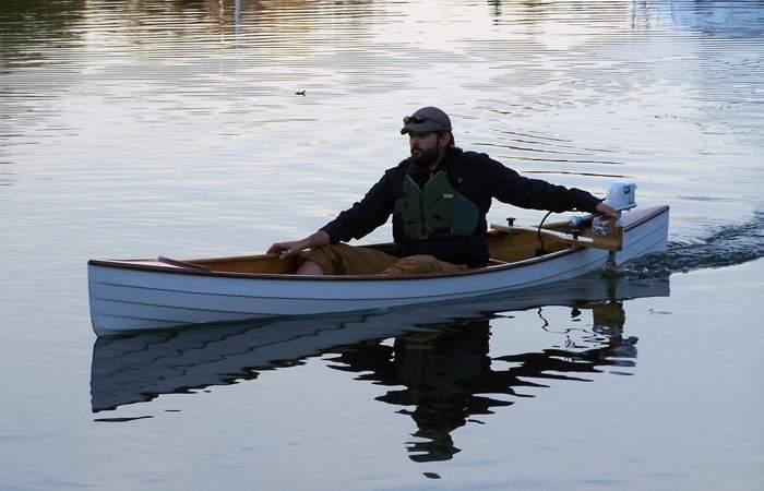 Canoe Motor Mount Fyne Boat Kits