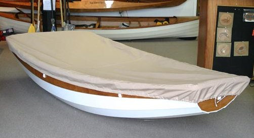 Canvas boat cover for a Passagemaker Dinghy