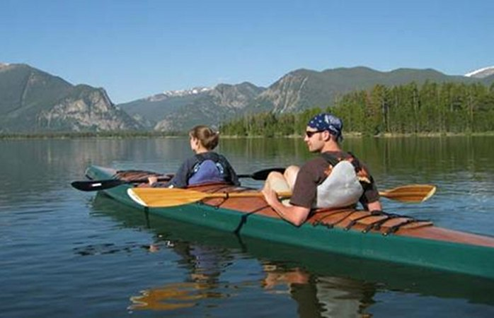 Fyne boat kits double chesapeake kayak built from plans