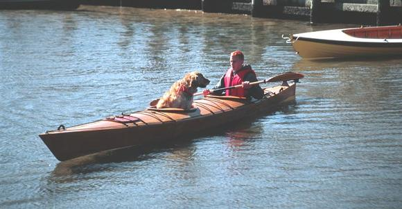 Wood double kayak plans or kit