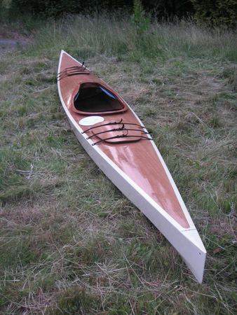 Greenland influenced sea kayak