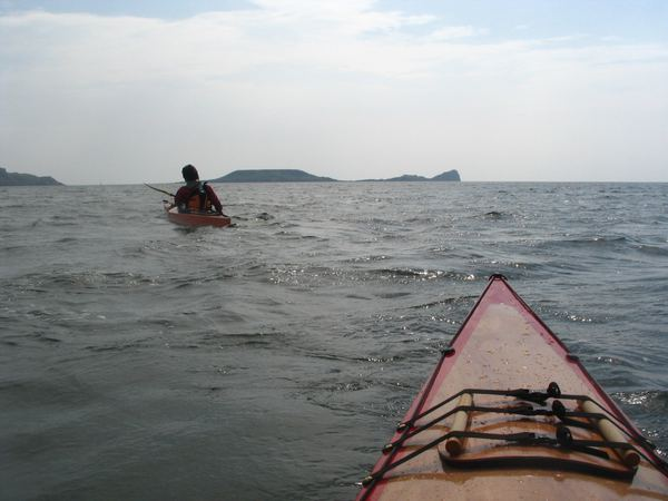 Carry expedition gear in the kayak