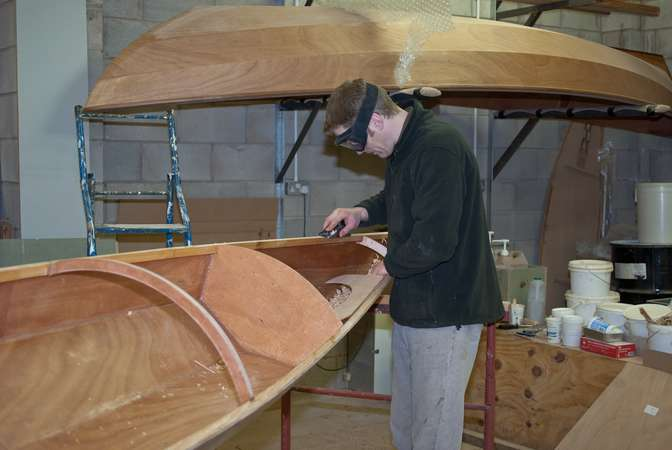 Fast to build Chesapeake sea kayak