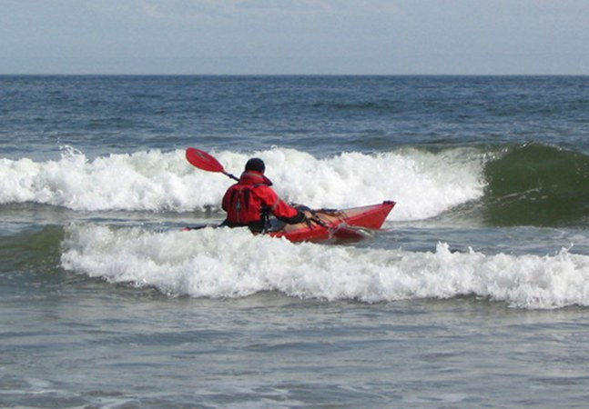 Fast to build sea kayak made for rough seas