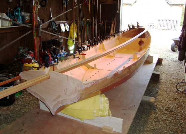 Building a rowing Yawl