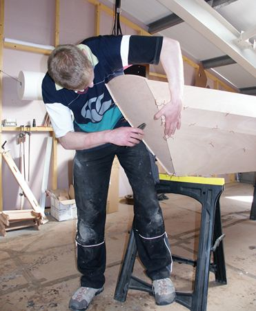 Building a rowing dory
