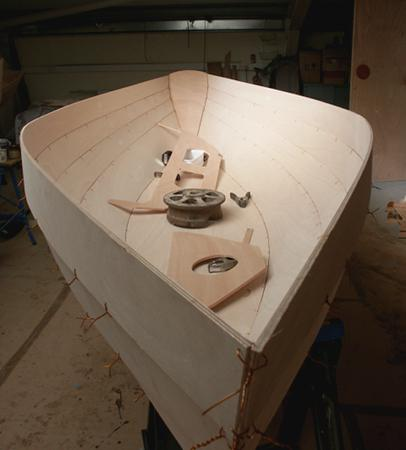 Building a rowing Dinky Dory