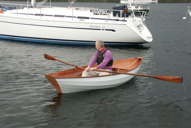 Wooden yacht tender Fyne Boat Kits Dinky Dory