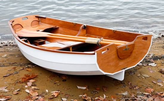 Nesting Eastport Pram rowing and sailing dinghy