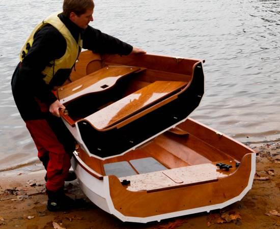 Nesting Eastport Pram - Fyne Boat Kits