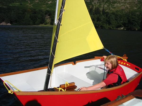 Fun learning to sail an Elterwater
