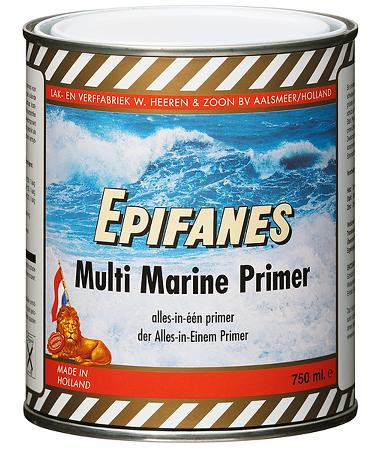 Epifanes Multimarine all-in-one primer for wood, fibreglass and most other bare or painted surfaces