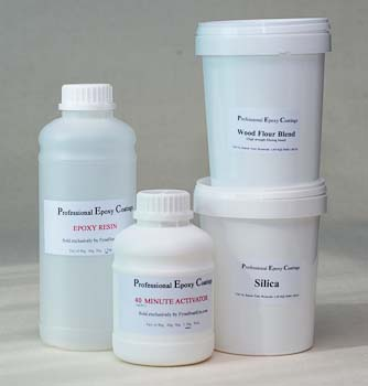 Professional Epoxy Coatings system tiny repairs bundle