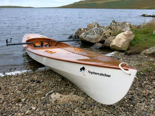 Expedition Wherry - a fast, seaworthy rowing boat for serious sliding-seat rowers