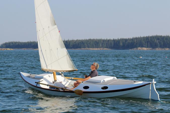 The Faering Cruiser is a serious rowing and sailing boat for coastal ...