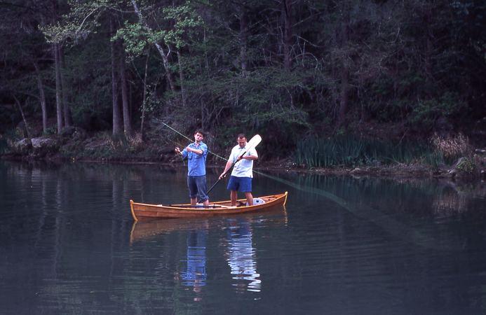 Flyfisher fyne boat kits for Fly fishing canoe
