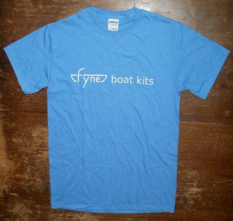 Fyne Boat Kits - Boat Builder t-shirt