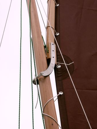 Sailing rigging and hardware for a fynefour kit boat