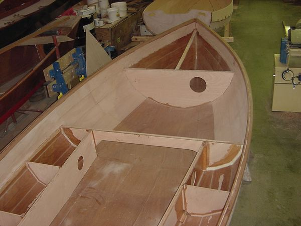 Building a Fyne Four clinker sailing dinghy