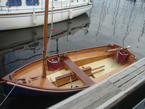 Built from a kit a sailing boat to be proud of