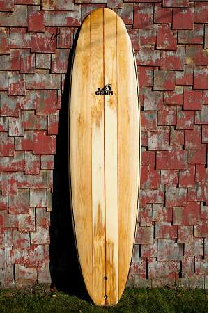 Pandan hollow wooden surfboard