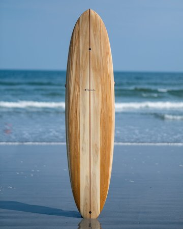 Thick Lizzy hollow wooden surfboard