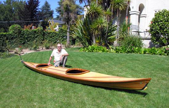 Comfortable Great Auk Double tandem sea kayak