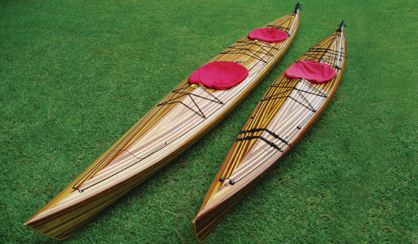 Sleek Great Auk Double tandem sea kayak
