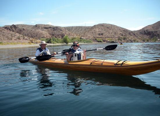 Guillemot Double tandem sea kayak