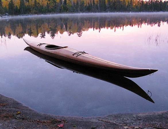 Guillemot Expedition Single cedar-strip sea kayak