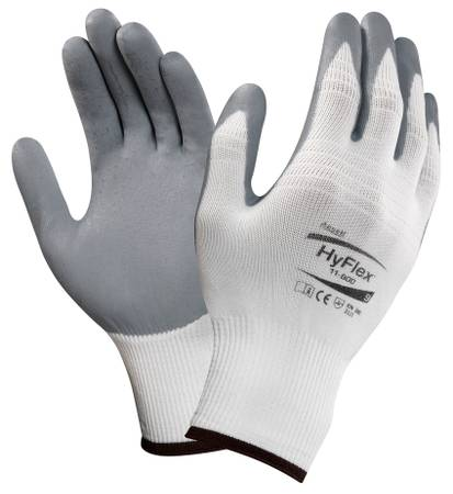 HyFlex 11-800 protective gloves with a nitrile foam coating