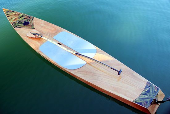Kaholo wooden stand-up paddleboard