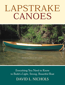 How to build a lapstrake or clinker canoe book by David Nichols