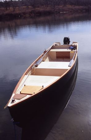 how to build a wooden rowboat