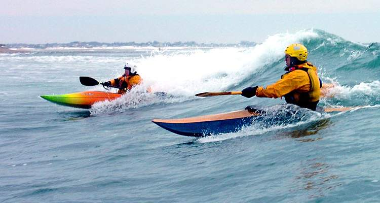 Matunuck surf kayak