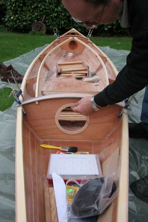 Building a wooden kayak from a fyne boat kit
