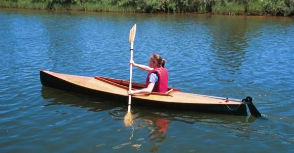 13 wooden stable kayak for the sea