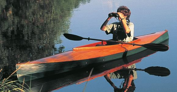 Mill Creek a stable canoe for ornithology or photography