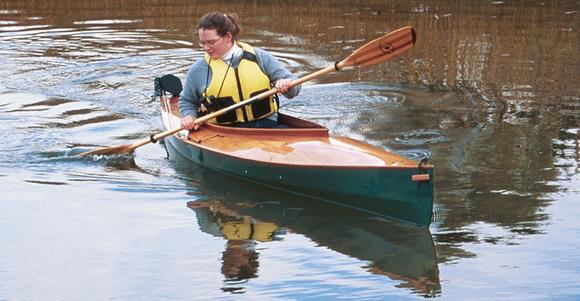 Fyne Boat kits easy to build canoe kayak