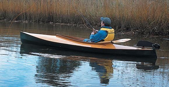 The Mill Creek makes an excellent fishing canoe