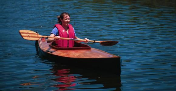 Easy to build stable DIY canoe or kayak with a large cockpit
