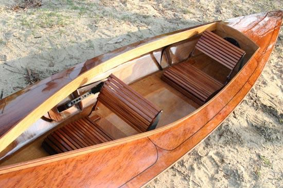 Beautiful deck on a Chesapeake Light Craft kayak