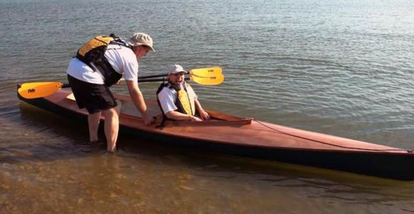 A sea going kayak that is fun and safe and easily built from a kit