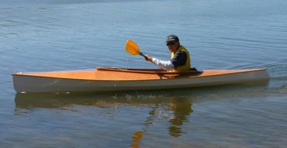 Home built recreational kayak that will last for decades