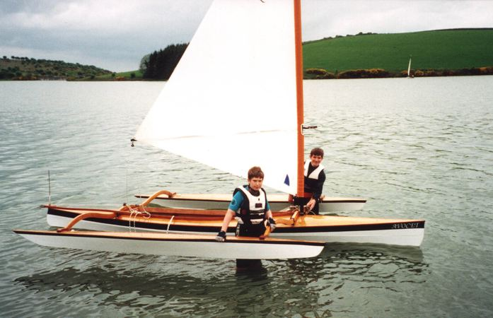 Sailing outriggers for those who want a very fast sailing canoe